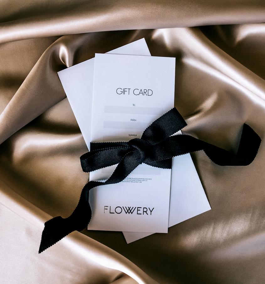 Presentkort Flowery