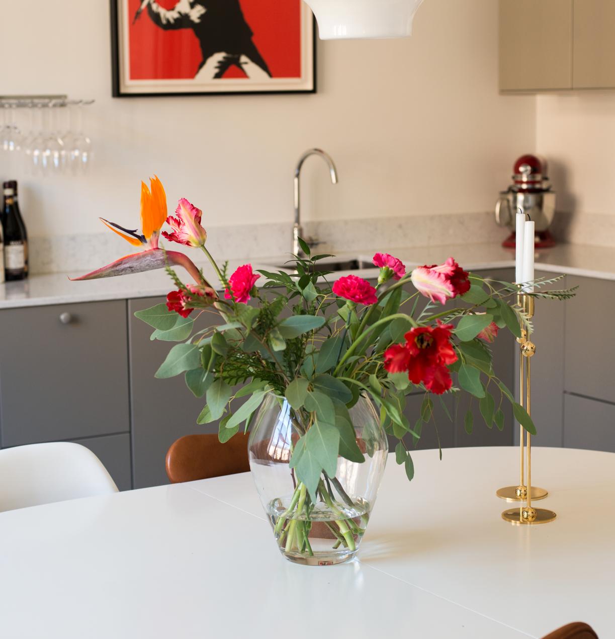 Prenumerera på blommor hem företag