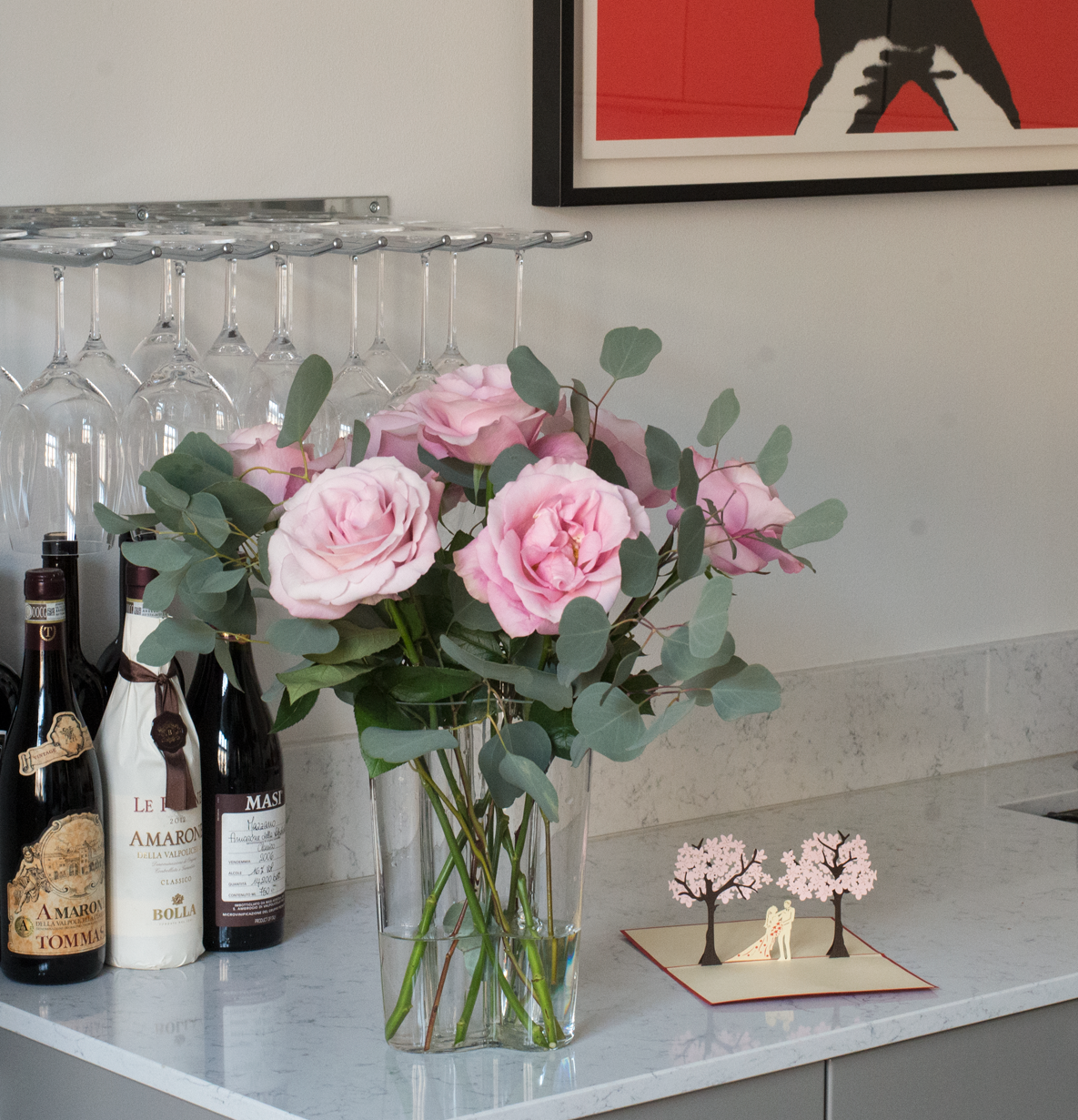Skicka rosor idag Stockholm